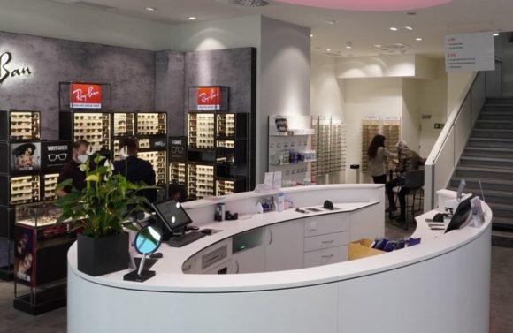 pro optik Flagshipstore Stuttgart - Ray-Ban-Shop