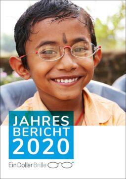 EinDollarBrille Jahresbericht 2020