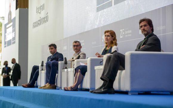 Etnia - David Pellicer Podium Wirtschafts-Meeting