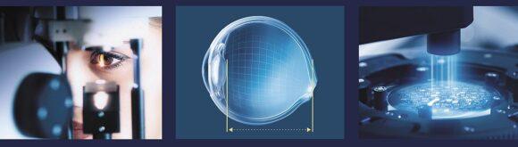 Rodenstock- Biometrie-Brillengläser: Parameter Augenmodell Fertigung
