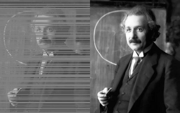 Sehen und Computer - TU Graz - Einstein by Schmutzer-CC