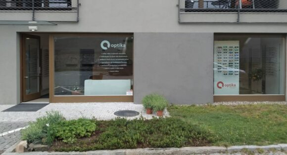 Tschechien Augenoptik - Tomas Haberland - Laden außen