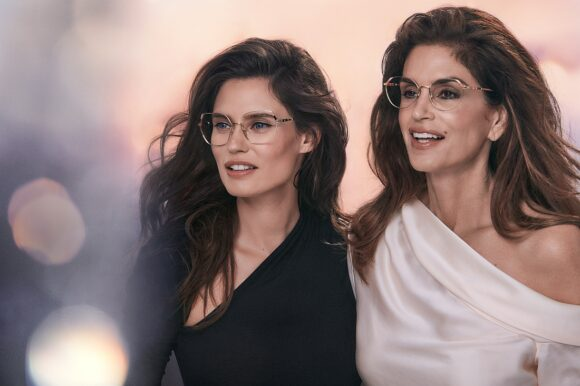 Yalea Eyewear von De Rigo - die Gesichter der Marke sind Bianca Balti und Cindy Crawford