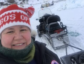 Bobo's Optik Grönland - mit dem Snowmobil unterwegs zum Fjord