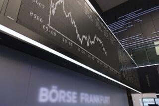 Börse Frankfurt - Parkett Tafel