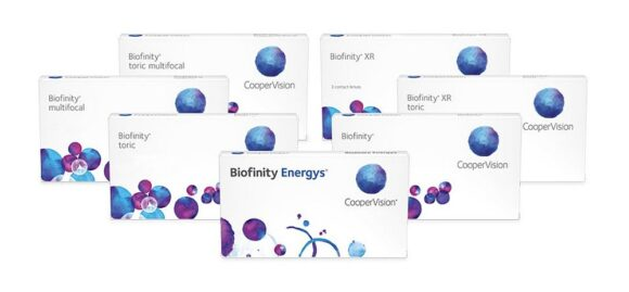 CooperVision Biofinity Kontaktlinsen-Familie
