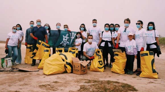 Eco Ocean Beach Clean up Modo - Portogallo Team