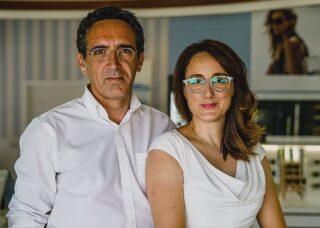 Stuart und Marina Hill - The English Opticians