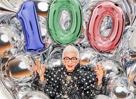 Iris Apfel - 100. Geburtstag - Instagram