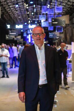DaTe Eyewear Messe - Präsident Giovanni Vitaloni