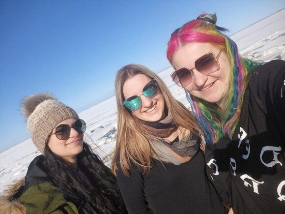 HS Aalen - Bachelor Studiengang Optometrie- Studentinnen in Oulu