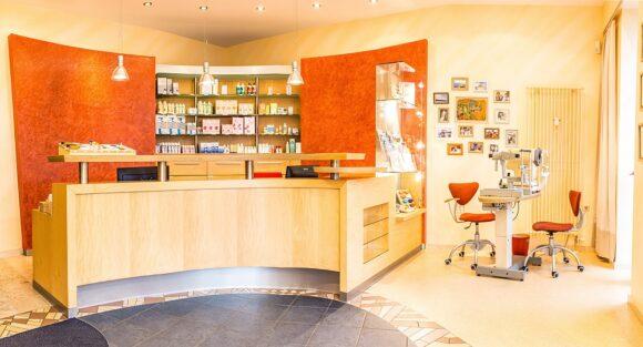Wahrendorf Kontaktlinsen-Institut - Empfang