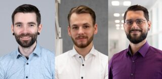 DAO-Außendienst: Martin vom Dahl, Elias Dapschies und Sebastian Schrodt