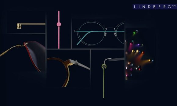 Lindberg Eyewear Website Collage