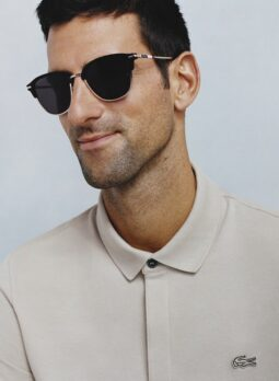 Novak Djokovic - Lacoste Sonnenbrille by Marchon