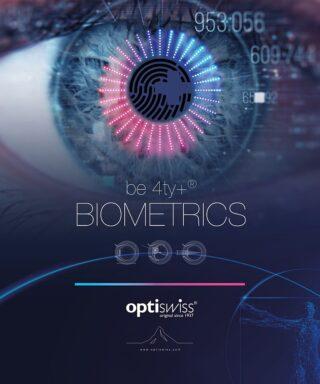 Kooperation von Optiswiss und Oculus: be 4ty+ Biometrics