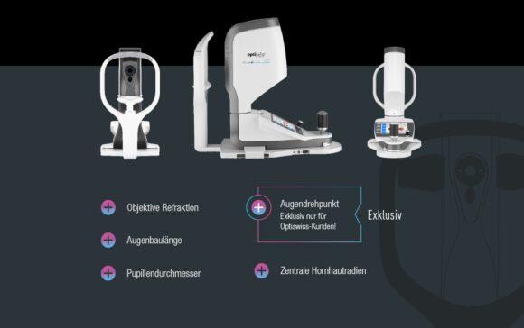 Optiswiss be 4ty+ Biometrics - Oculus Myopia Master