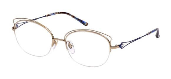Seiko Woman Bijoux T7008 52-17 C011 Gold Blue - Midon